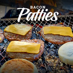Bacon Patties | The Flying Pig | 100% Bacon