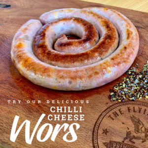 Chilli Cheese Wors | Wors | Limpopo | The Flying Pig
