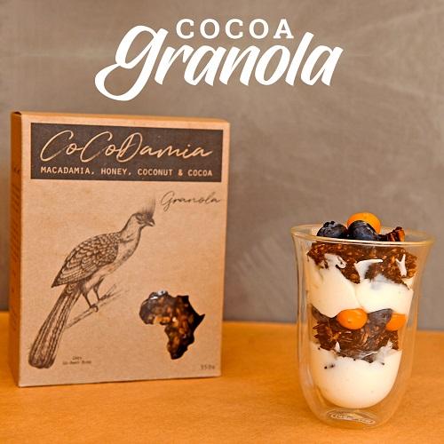 Cocoa Granola | CoCoDamia | The Good Fat Co | Nelspruit