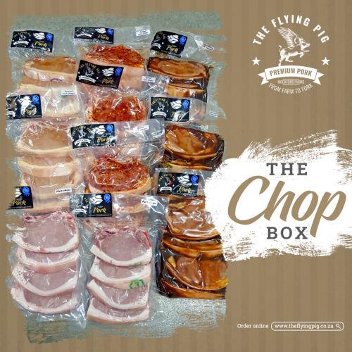 Pork Loin Chop Box   The Flying Pig   Gauteng
