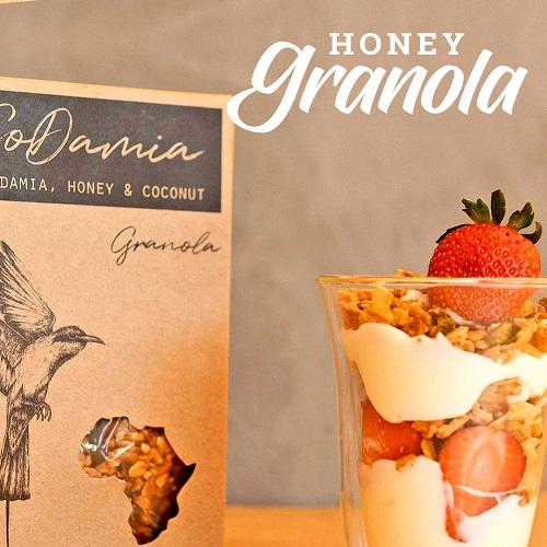 Honey Granola | CoCoDamia | The Good Fat Co | Nelspruit