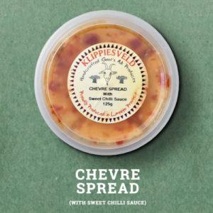 Klippiesveld Kaas | Chevre Sweet Chilli Spread | The Flying Pig