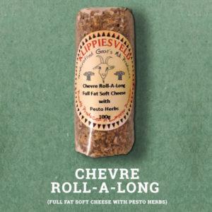 Klippiesveld Kaas | Chevre Roll | Pesto & Herbs | The Flying Pig