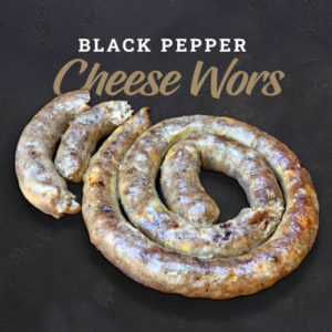Black Pepper And Cheese Wors | The Flying Pig | Pork