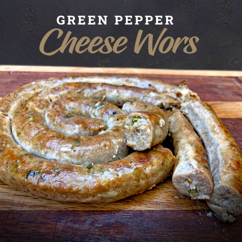 Green Pepper and Cheese Wors | Limpopo