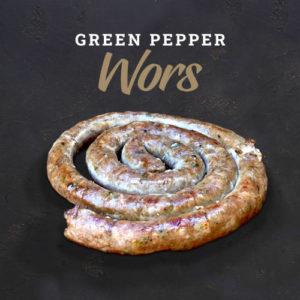 Green Pepper Wors