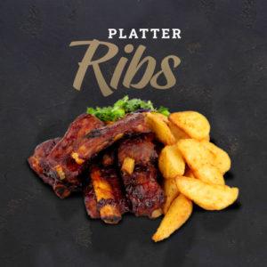 Platter Ribs | The Flying Pig