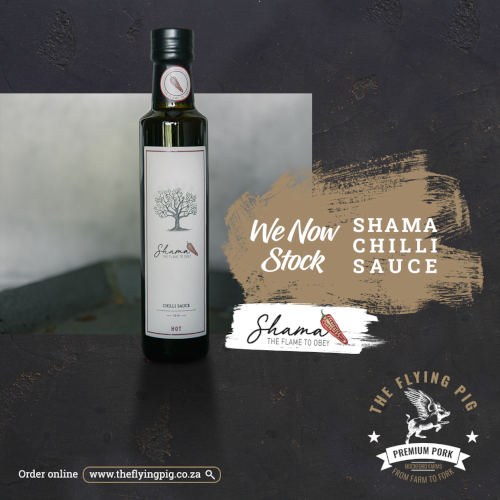 Shama Chilli Sauce | Limpopo | The Flying Pig