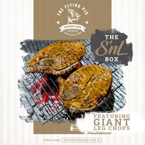 Shoulder and Leg Pork Chops | The Flying Pig